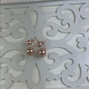 Rose gold plated,sterling silver 925